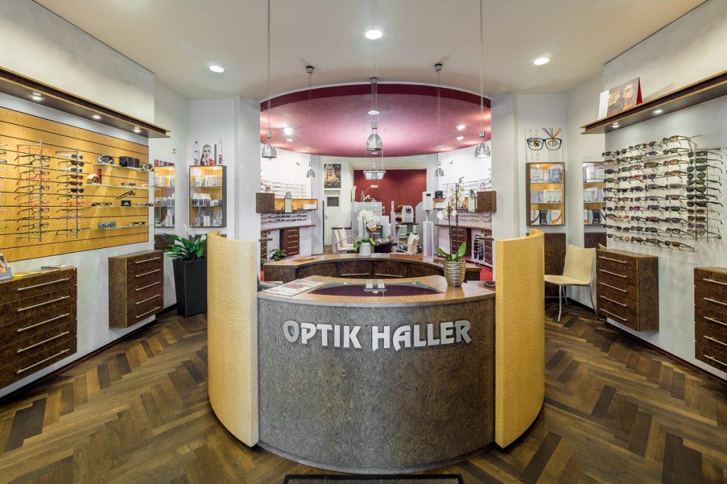 Optik Haller Empfang